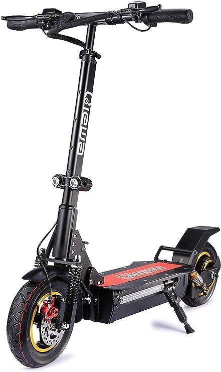 Amazon.com: QIEWA Q1Hummer Scooter eléctrico de 800 W, 37 ...
