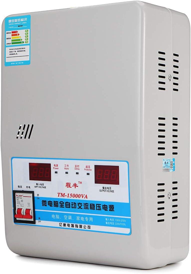 New 15KW Automatic Voltage Regulator 130-270V to 220V AC Stabilizer Power Supply