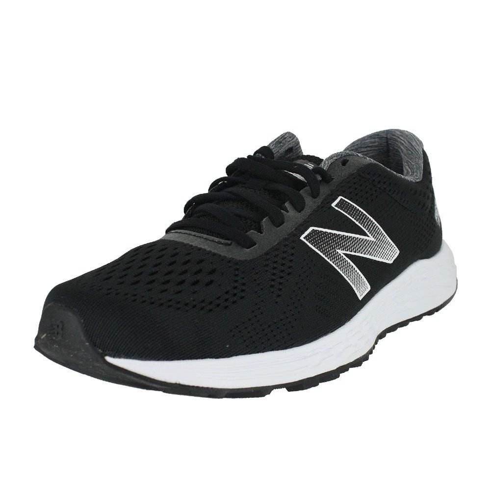 New Balance Men's Arishi v1 Fresh Foam Running Shoe B078HD3ST3 12 2E US|Black/White
