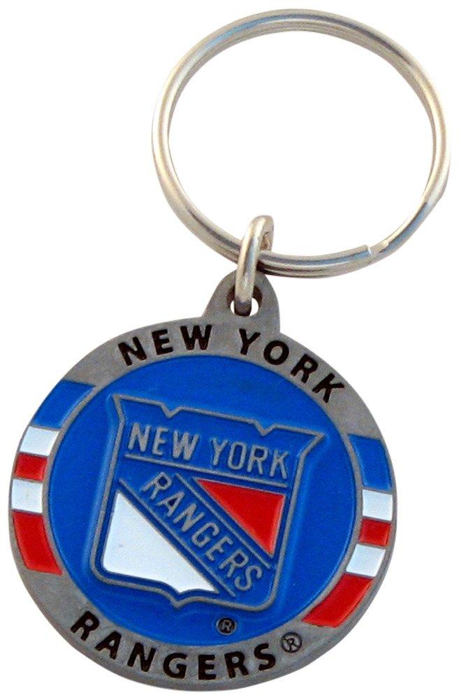 Siskiyou NHL Unisex Carved Metal Key Chain