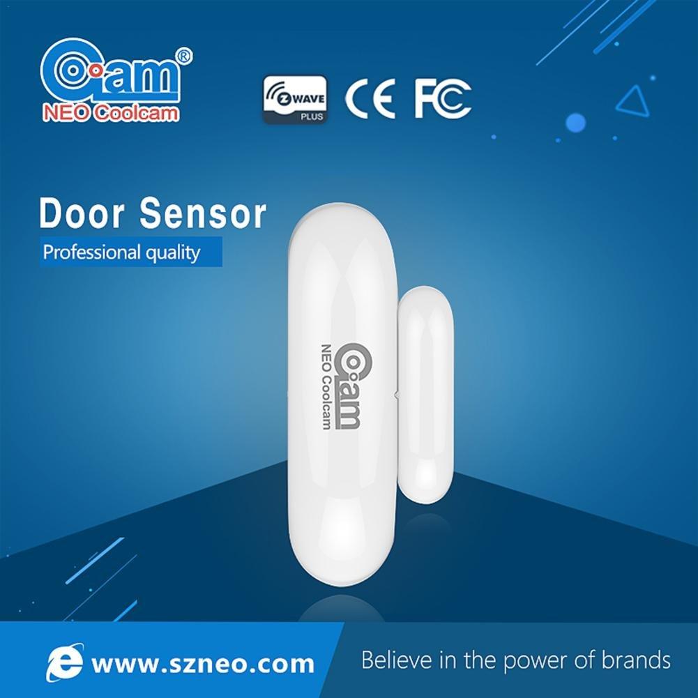 Capteur de Porte sans fil NEO Coolcam Z-Wave Capteur de porte Mini Sé rie 500 NAS-DS01Z Capteur de Porte Capteur de Fenê tre avec Technologie Z-Wave Systè me Domotique Purebesi