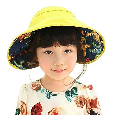 68cea08be1 Domybest Baby Hats Folding Waterproof Sun Hat Kids Children Fisherman Hat   Amazon.co.uk  Clothing