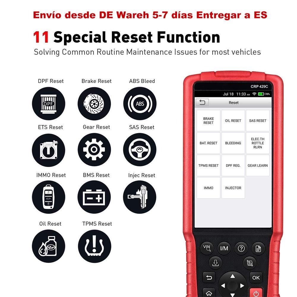 Launch X431 Creader Professional 129 comprehensive diagnostic instrument  CRP129 Auto Code Reader OBD2 Scanner (Launch CRP 429C)