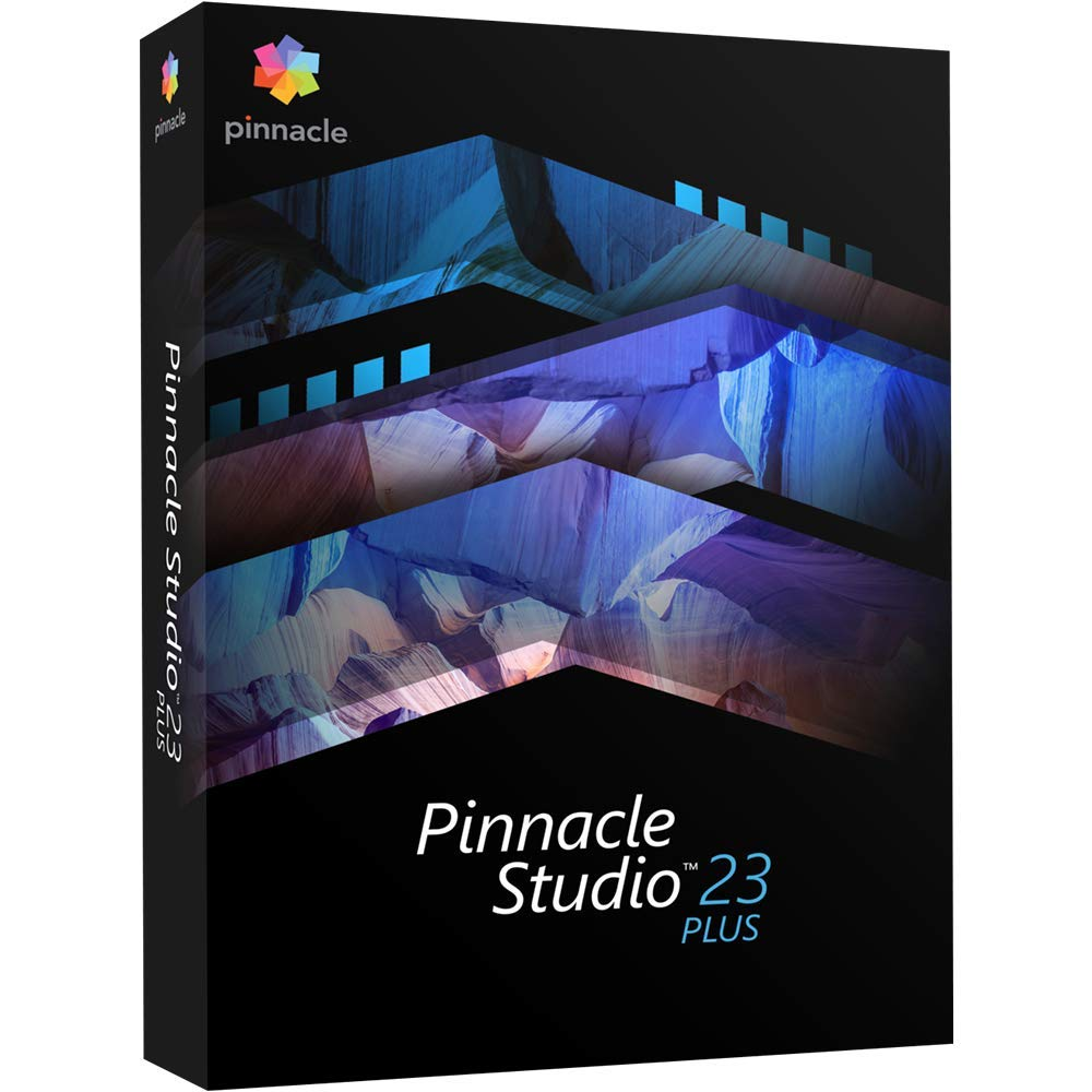 Pinnacle Studio 23 Plus - Video Editing and Screen Recorder [PC Disc] by Pinnacle