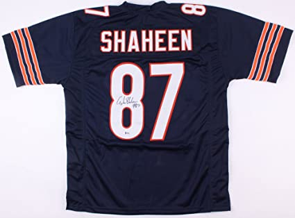 san francisco 8db8e 7d962 Adam Shaheen Signed Chicago Bears Jersey (Beckett) at ...