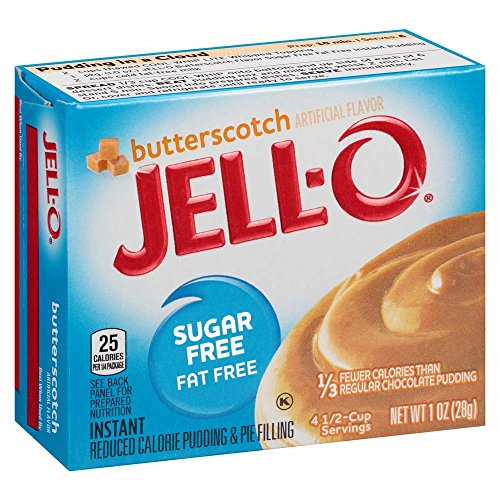 Jell Sugar Free Butterscotch Instant Pudding product image