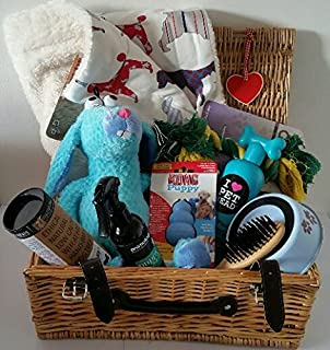 Super deluxe doggy hamper amazon pet supplies dog hampers luxury puppy present easter gift negle Images