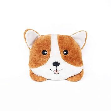 Amazon.com: ZippyPaws - Cojín de peluche para perro a juego ...