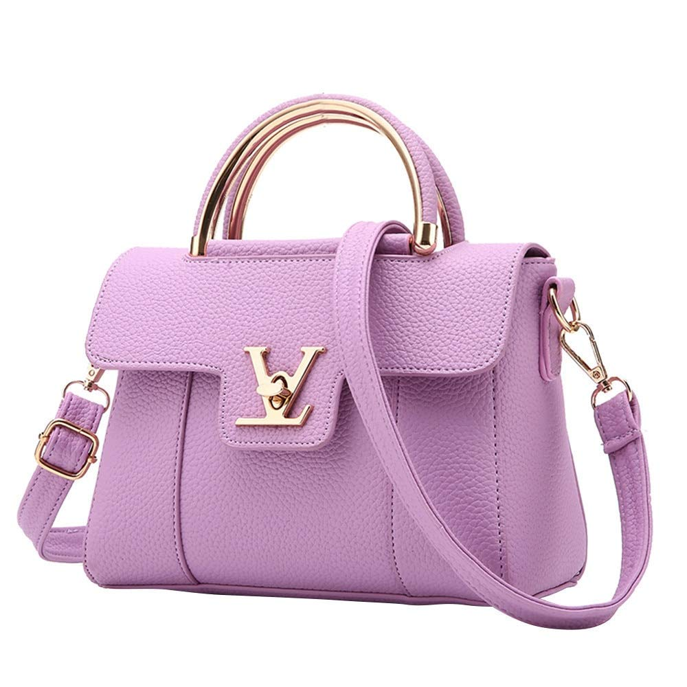 Fashion Single Women Shoulder Messenger Bag PU Leather ...