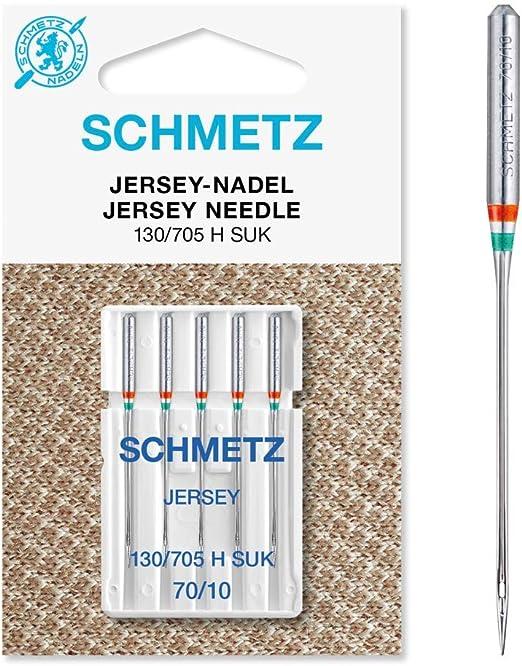 SCHMETZ 130/705 H SUK - Aguja para máquina de coser: Amazon.es: Hogar