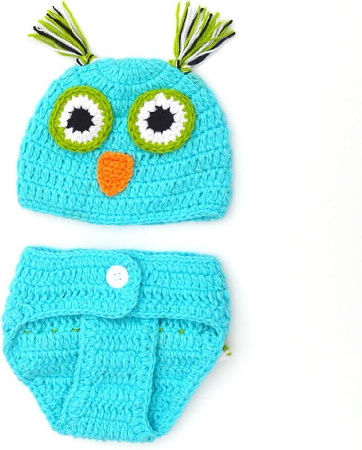 Aru - Disfraz de búho de Ganchillo para recién Nacido, para bebé ...