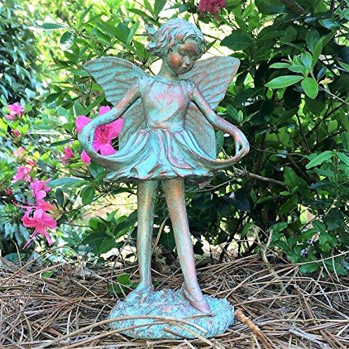 Homestyles Emily Fairy Figurine #96212 Garden Statue Bronze Patina