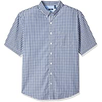IZOD Men's Big and Tall Saltwater Breeze Short Sleeve Shirt