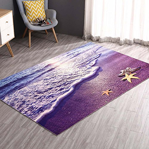 ch Carpet Living Room Bedroom Bedside Area Rug 31.5 by 63 Inch - MAXYOYO Soft Non-slip Bedroom Carpet Large Carpet Rug (Mediterranean Style Furniture)