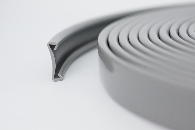 Scale 40X8 MM VARI COLORI 1 m PVC PLASTICA corrimano beige
