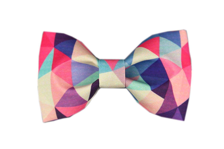 - Cloud Rack Bow Tie Printed Plaid Bow