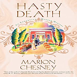 Hasty Death Audiobook