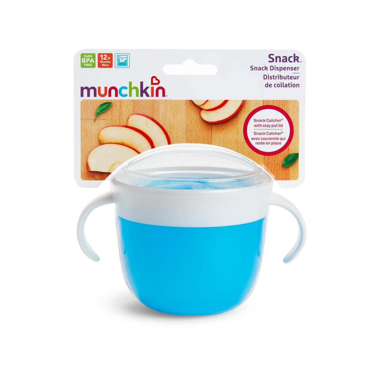 Munchkin 2 Piece Snack Catcher Pink//Orange