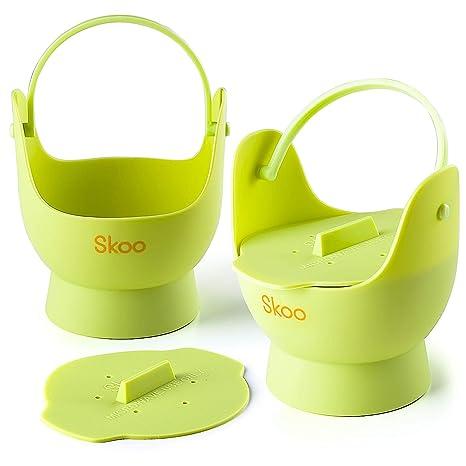 Amazon.com: Skoo - Juego de moldes de silicona para escalfar ...