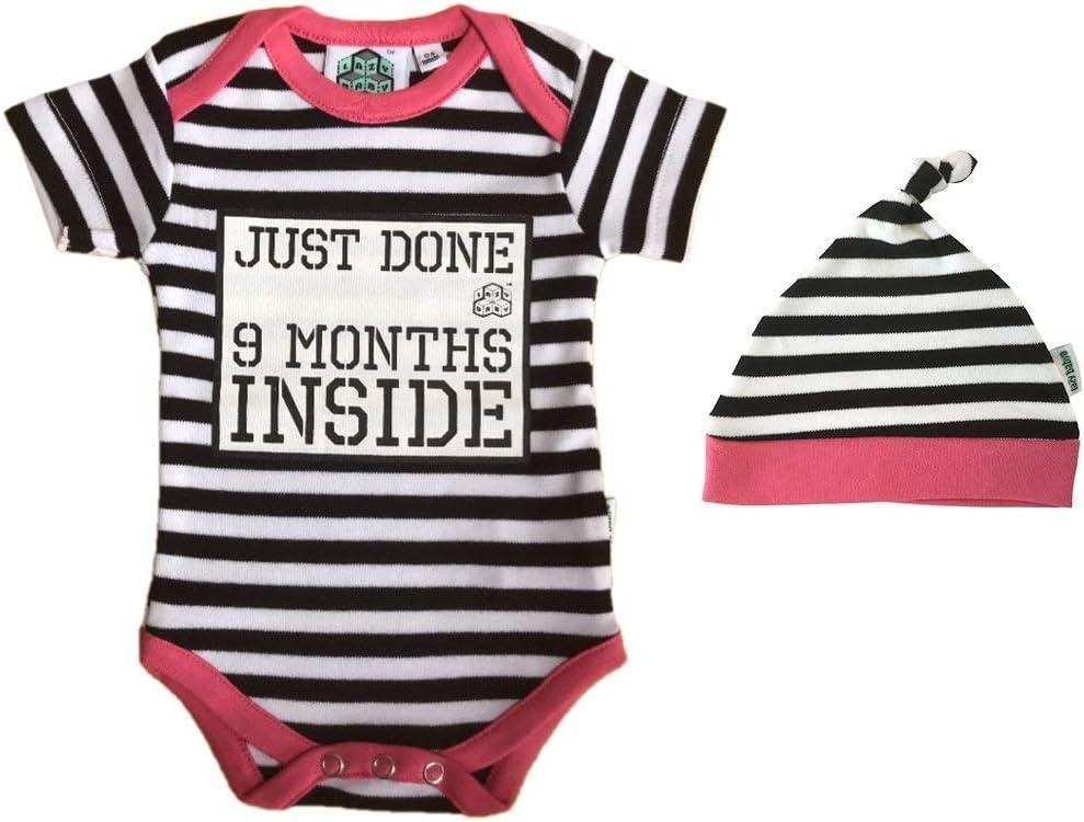 Mameluco de regalo recién hecho de 9 meses en el interior® para bebé niña: Amazon.es: Jardín