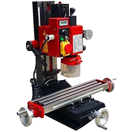 Used Milling Machines Power Tools Tools Home Amazon Com >> Mophorn Mini Milling Machine 2500prm 550w Variable Speed Milling Drilling Machine Digital Display Adjustable Stops Gear Drive Motor Micro Milling