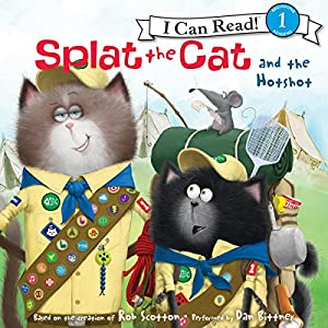 Splat the Cat and the Hotshot Audiobook