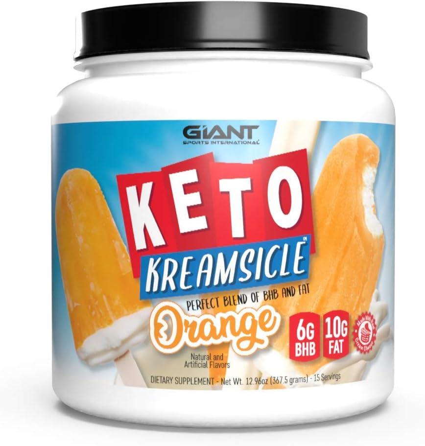 Giant Keto Kreamsicle - Orange Creamsicle (More Flavors)