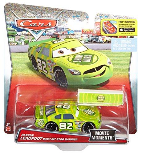 Amazon Com Disney Pixar Cars Piston Cup Darren Leadfoot Shiny Wax