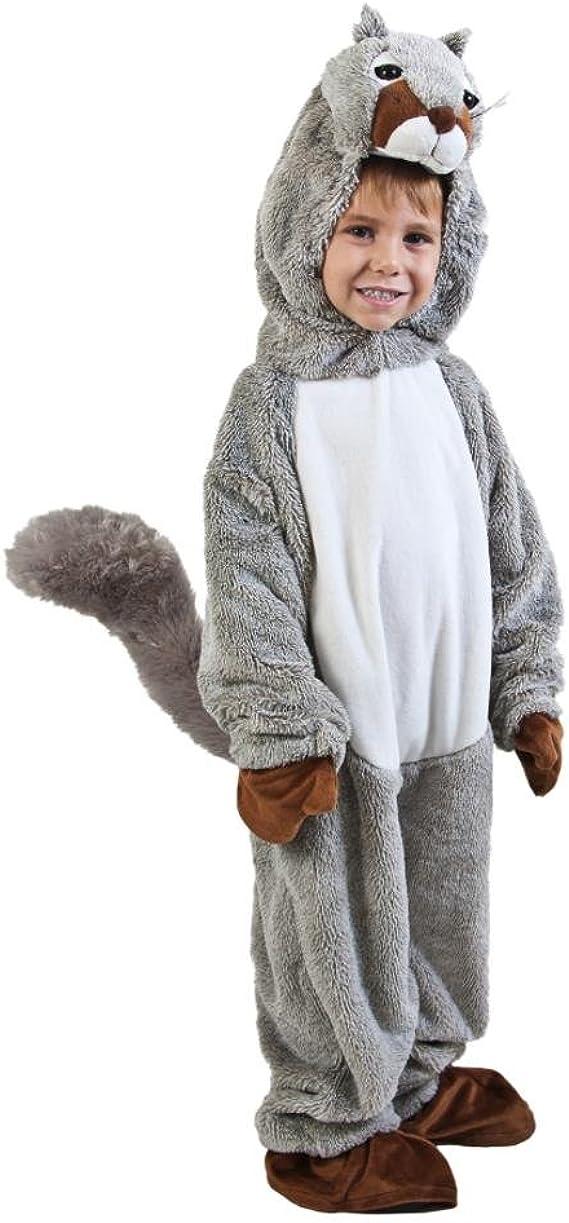 SKM Enterprise Disfraz de ardilla para niño (tamaño pequeño: 4-6 ...