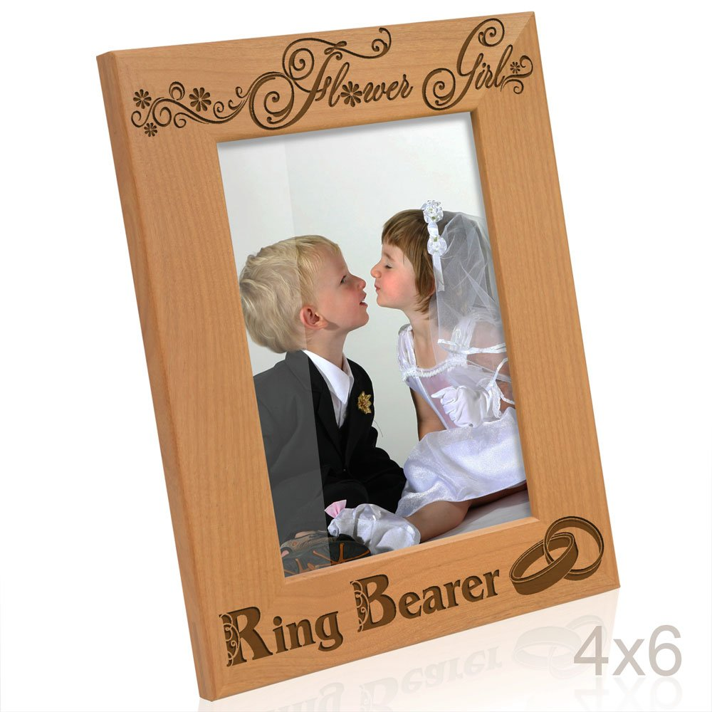 Amazon.com - Kate Posh - Flower Girl and Ring Bearer Picture Frame ...