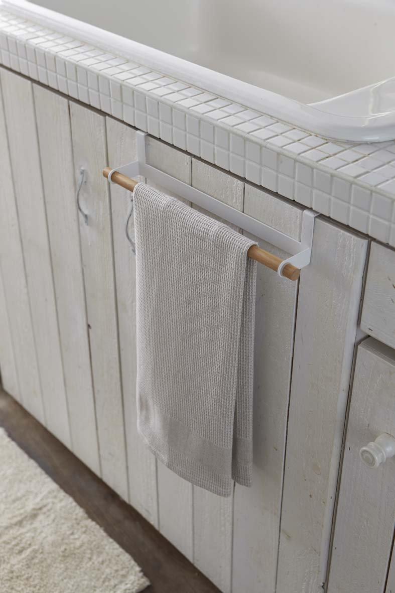 Acciaio Bianco yamazaki Towel Hanger Portastrofinacci