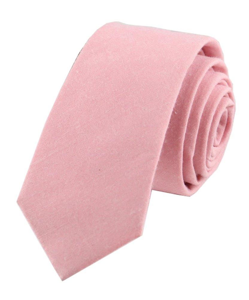 Men's Boys Womens Blush Pink Tie Trendy Designer Necktie Ideal Summer Accessory