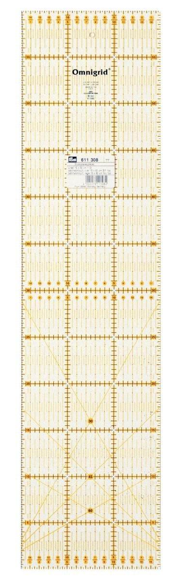 Prym 611308 Regolo universale 15 x 60 cm angolo Dritz R1560