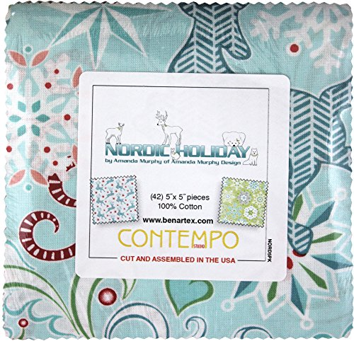 quilting fabric with 5 stars - 3