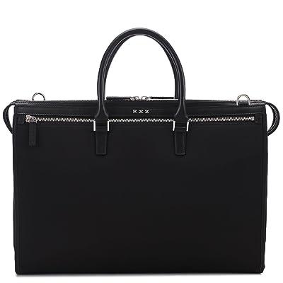 Men Business Briefcase Attache Bag Smooth Nylon 3027