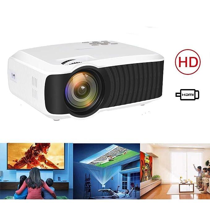 Mini proyector LED HD ± 45 ° corrección Trapezoidal Video ...