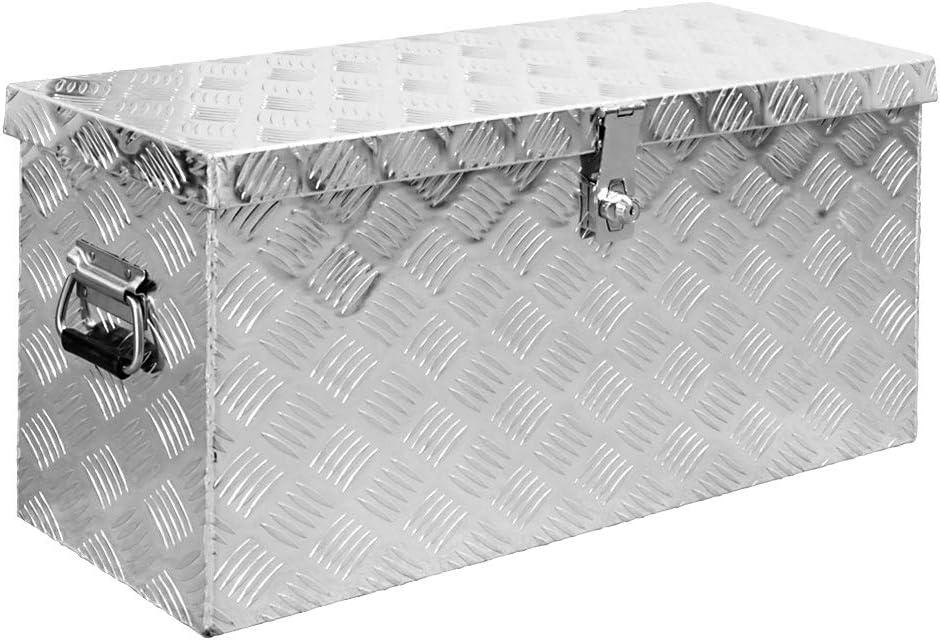 Truck Box Caisse de Transport Remorque Bo/îte /à Outils Chequer Plaque en Alu 12 Tailles Trucky 14 TBA-Modell:TBA-Mount-1