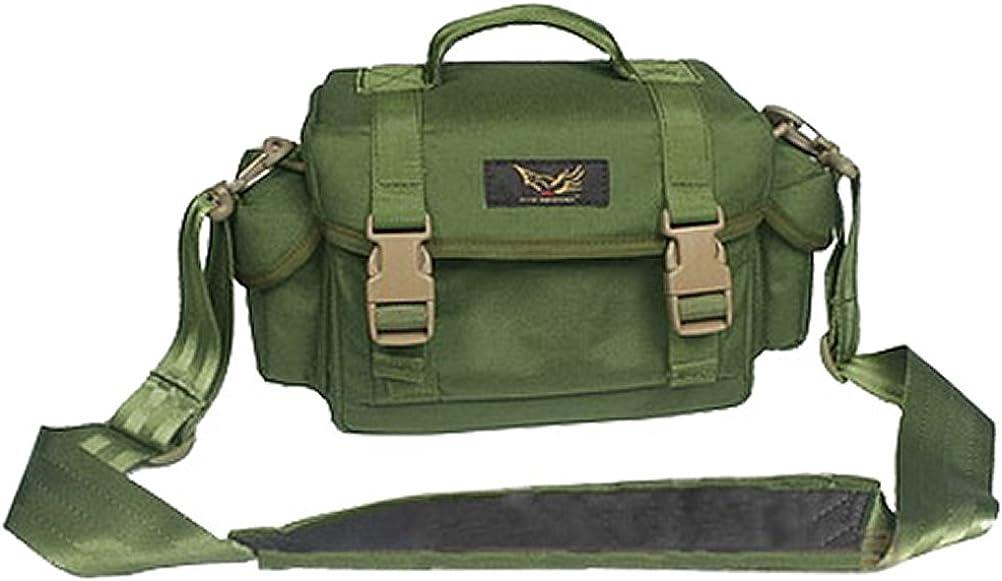 Color : Brown ZHBWJSH Mens Shoulder Messenger Bag Canvas SLR Camera Digital Camera Bag SLR Camera Bag