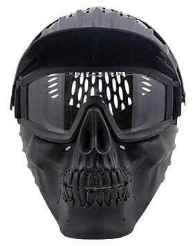 Máscara de Airsoft,OUTGEEK máscaras tácticas de la máscara del traje de Halloween Máscara del