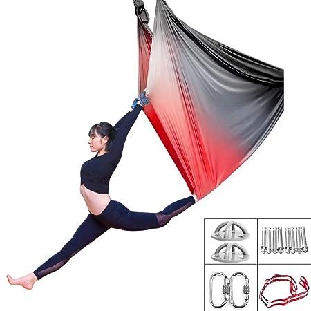 Hamaca De Yoga Aérea, Tejido De Seda De Swing Volador para ...