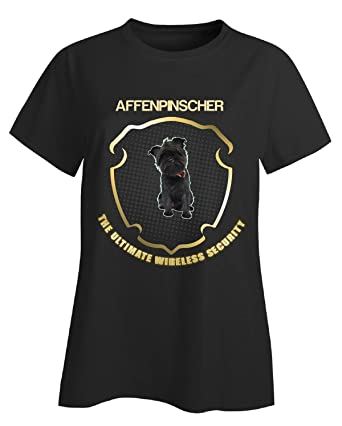 Affenpinscher The Ultimate Wireless Security Dog - Ladies T Shirt