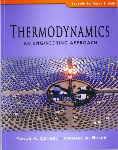 Thermodynamics: An Engineering Approach 7th (seventh) Revised Edition by Cengel, Yunus A., Boles, Michael A. published by McGraw Hill Higher Education (2010)