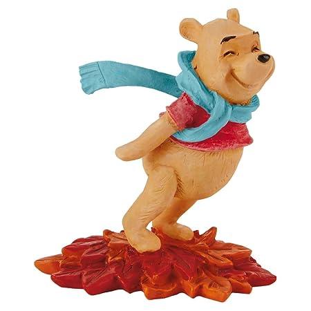 Hallmark Winnie the Pooh Leaning in the Wind Figurine