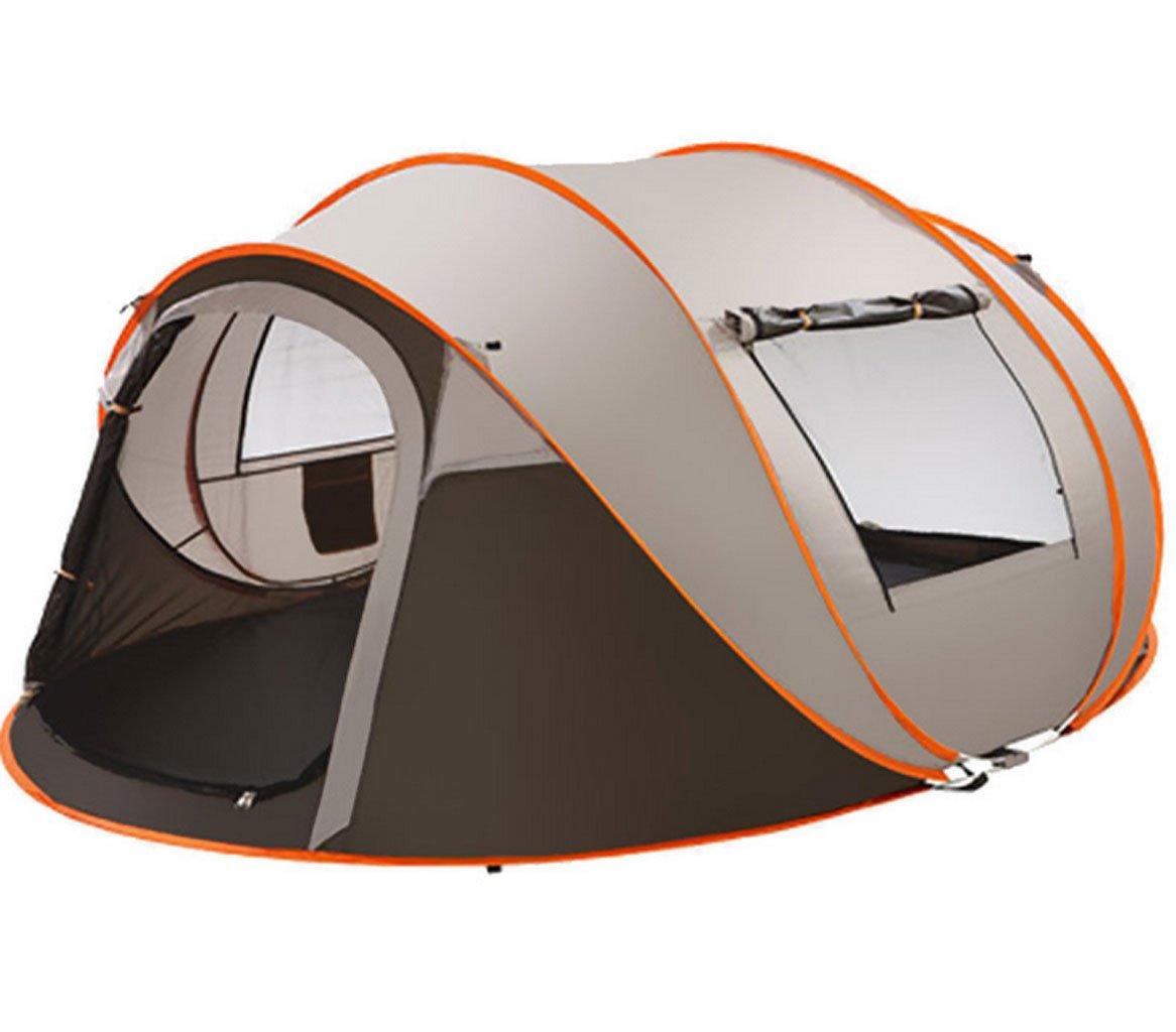 GXWFUI Outdoor Leichtes Camping Zelt Kuppelzelt Für 5-8 Personen Wasserdicht Automatischzelt