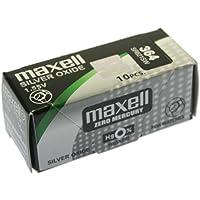 MAXELL SR621SW - 364 - Pila de Óxido de Plata 1.55V - PACK 10 UNIDADES