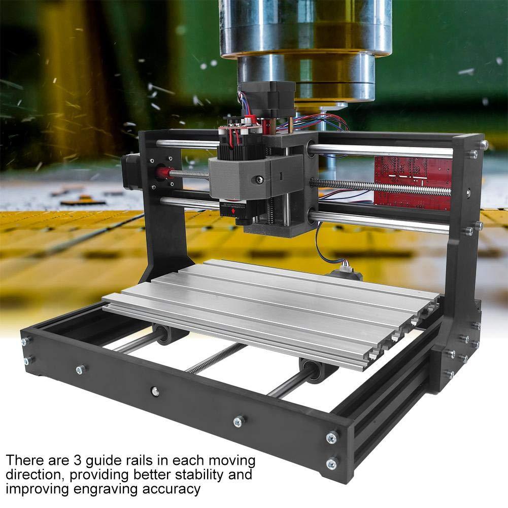 #1 5500mW 110-240V Mini Desktop Cutting Kit,CNC 3018 Pro//Mini Engraver CNC Engraving Machine Standard Version