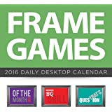 2016 Frame Games Daily Desktop Calendar