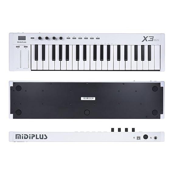 Audio/midi Interfaces Shop For Cheap Midiplus X3 Mini 37-key Usb Midi Keyboard Controller Led Display With 1.5m Usb C Musical Instruments & Gear