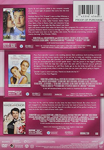 Fools Rush in (1997) / Made of Honor / Wedding Planner, the - Vol