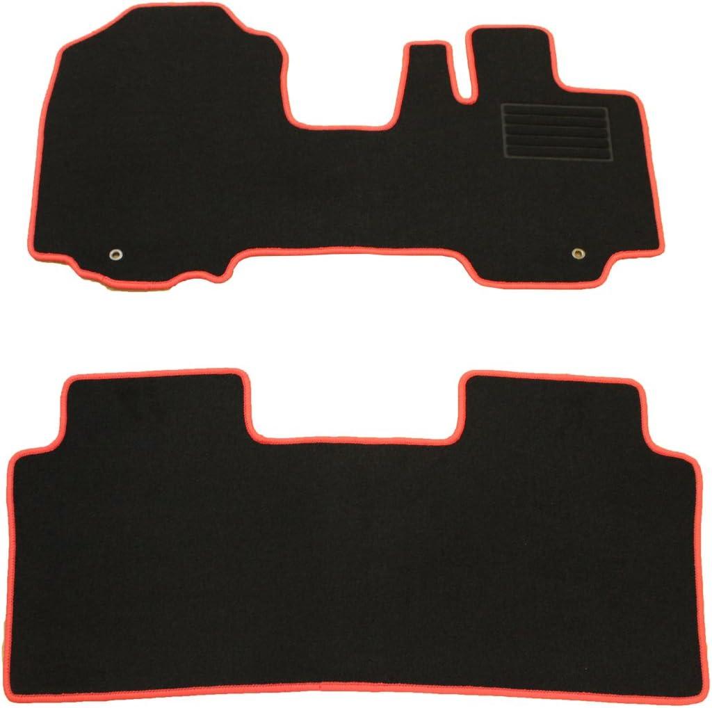 こちらの商品はスズキ スペーシア スペーシアカスタム スペーシアギア MK53S フロアマット 赤フレーム/DX黒になります。